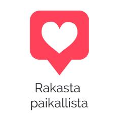 Rakasta Paikallista -logo